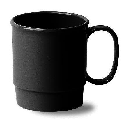 Cambro 75CW110 7 1/2 oz Camwear Cup - Stacking, Black