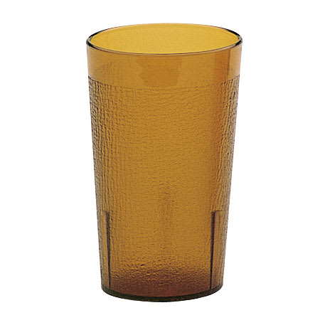 Cambro 800P2153 7.8 oz Colorware Tumbler - (Case of 12) Amber