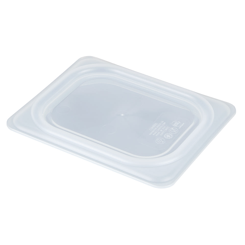 Cambro 80PPCWSC190 Eighth-Size Food Pan Seal Cover - Plastic, Translucent