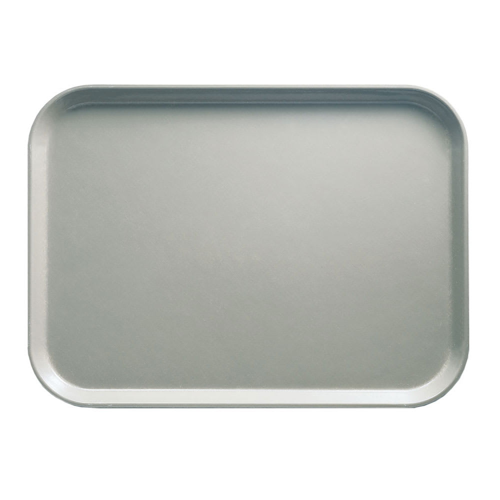 "Cambro 810199 Fiberglass Camtray® Cafeteria Tray - 9.8""L x 8""W, Taupe"