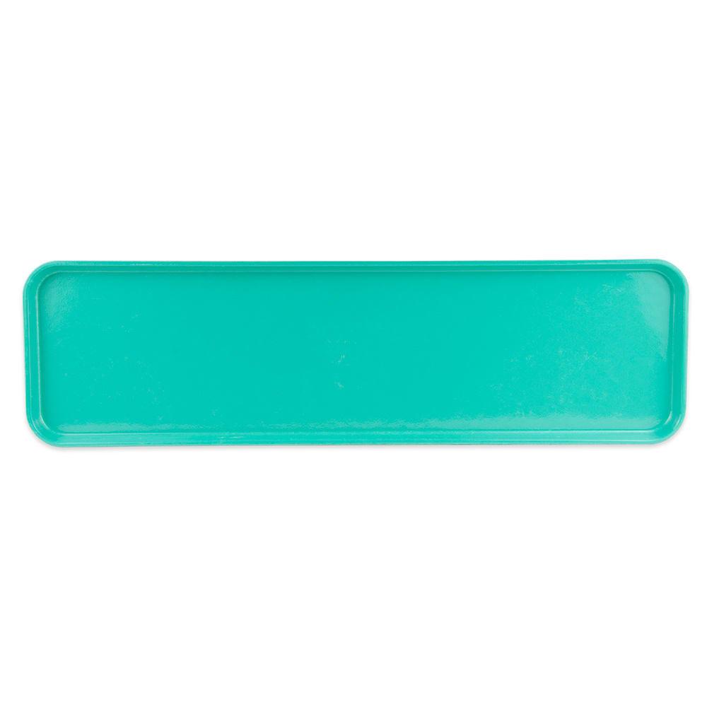 "Cambro 830MT-140 Rectangular Market Display Tray - 8-7/16x30x3/4"" Green"