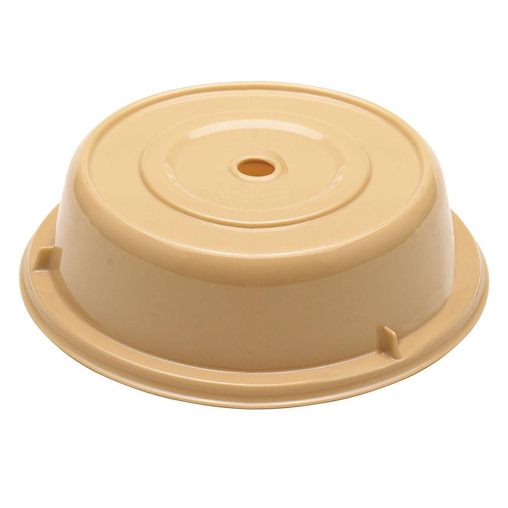 "Cambro 909CW133 9 3/4"" Round Camwear Plate Cover - Beige"