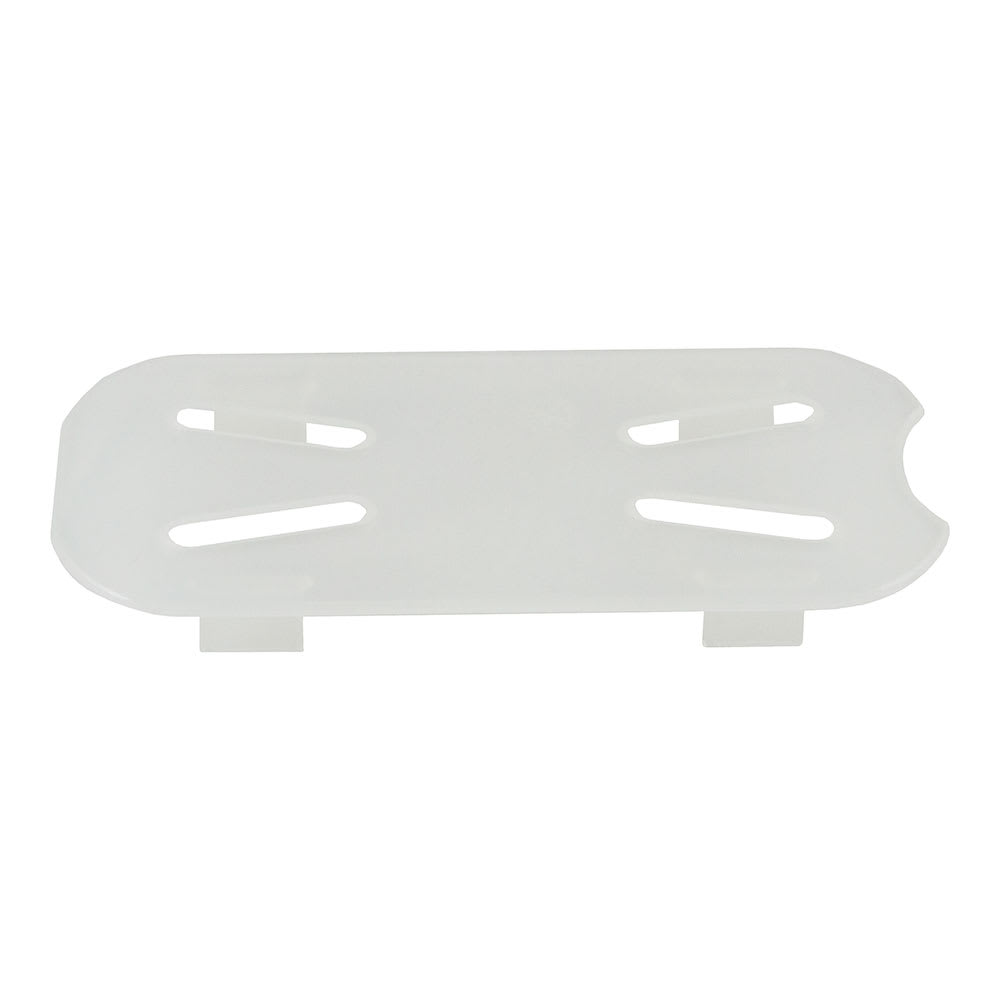 Cambro 90PPD190 Food Pan Drain Shelf - 1/9 Size, Translucent
