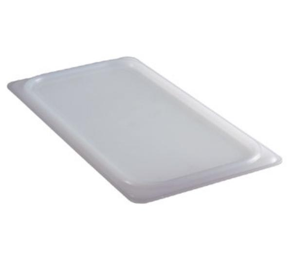 Cambro 90SC148 Sealing Cover, 1/9 Size, 4-1/4 in x 6-15/16 in, White