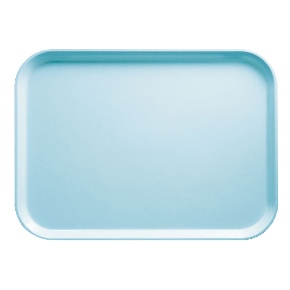 "Cambro 915177 Rectangular Camtray - 8 3/4x15"" Sky Blue"