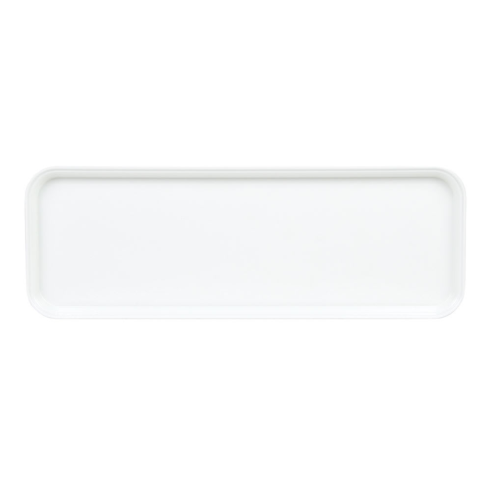 "Cambro 926MT148 Rectangular Market Display Tray - 9x25 9/16x1"" White"