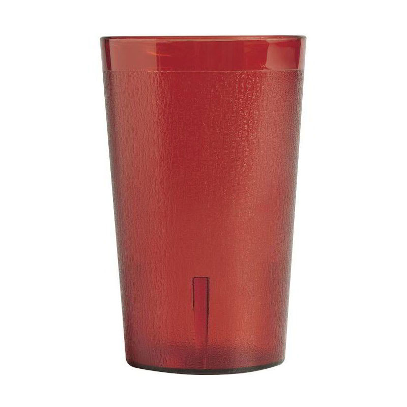 Cambro 950P2156 9.8 oz Colorware Tumbler, Ruby Red