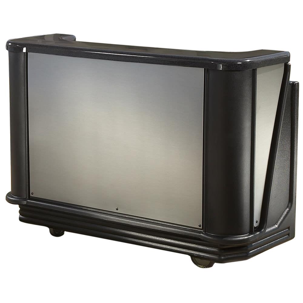 """Cambro BAR730DSPM770 72 3/4"""" Portable Bar - 80 lb Ice Sink, Cold Plate, Chicago"""