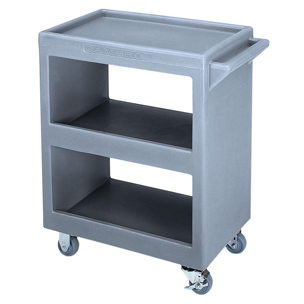 Cambro BC225191 3 Level Polymer Utility Cart w/ 350 lb Capacity, Raised Ledges