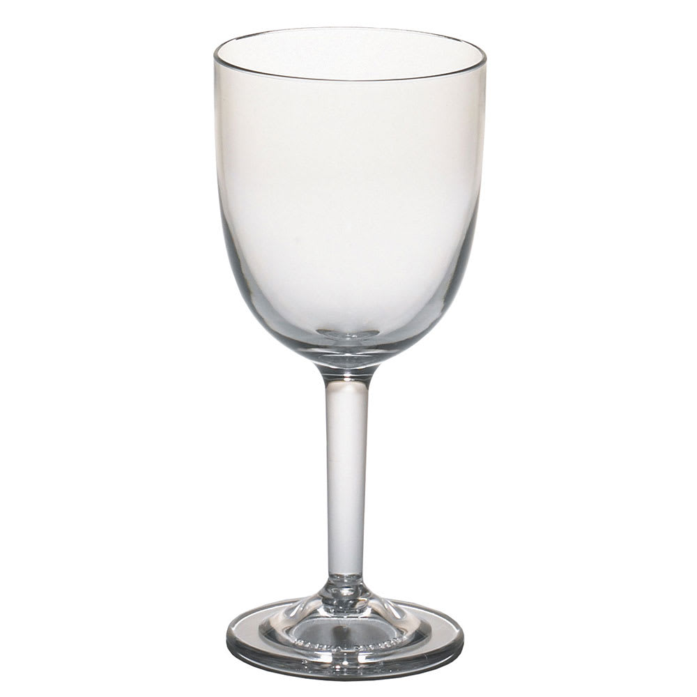 Cambro BWW10CW135 10-1/2-oz Aliso Barware Wine Glass - Polycarbonate, Clear
