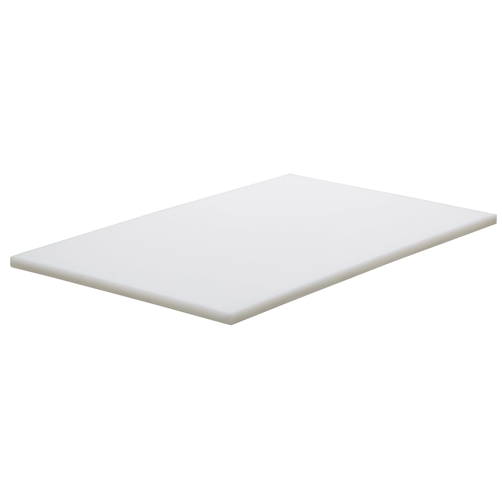"Cambro CB1220148 Vending Cart Cutting Board - 13-1/8 x 21"" White"
