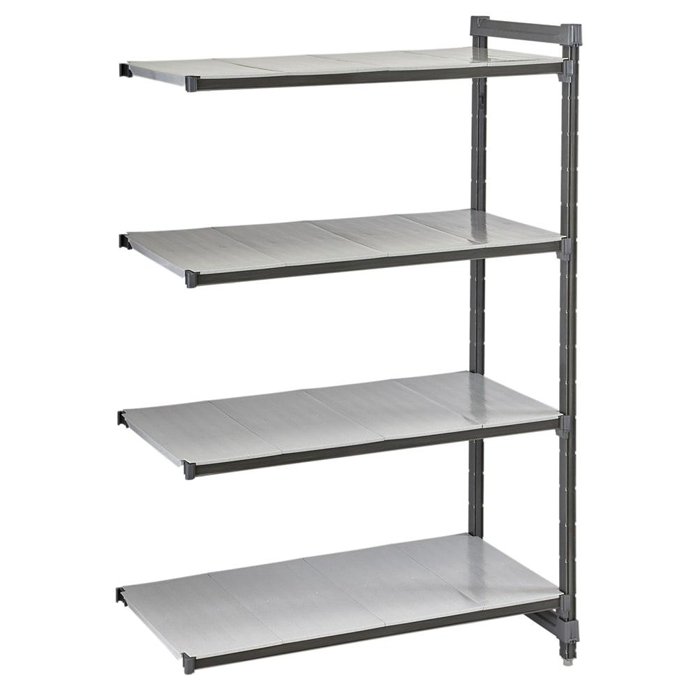 "Cambro CBA243064S4580 Polymer Solid Add-On Shelf Kit - 30""W x 24""D x 64""H"