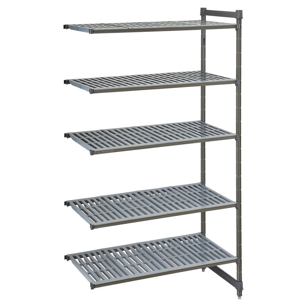 "Cambro CBA243684V5580 Polymer Louvered Add-On Shelf Kit - 36""W x 24""D x 84""H"