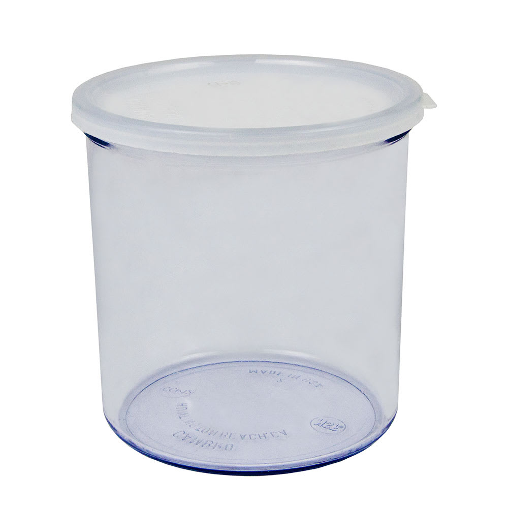 Cambro CCP12152 1.2-qt Crock with Lid - Clear