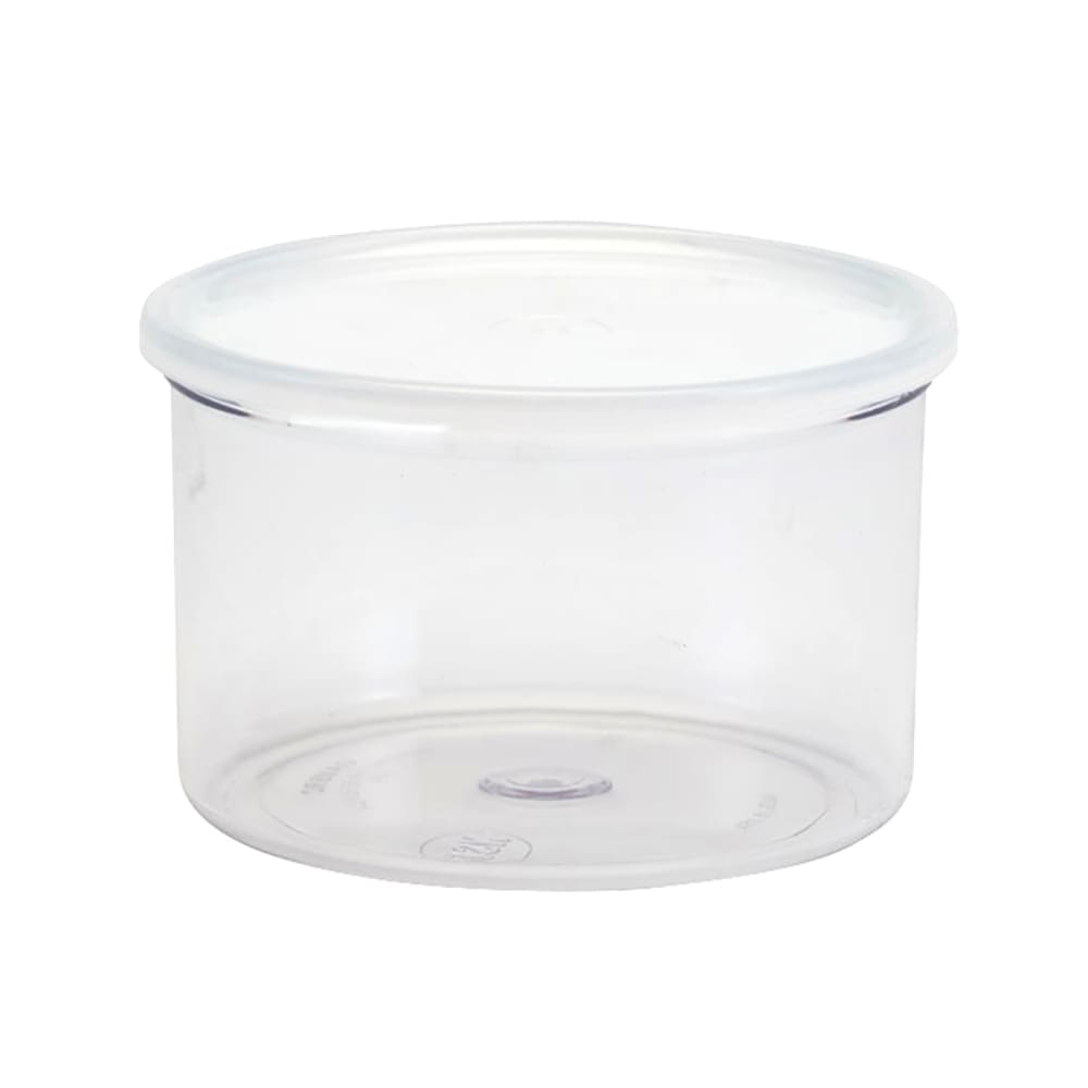 Cambro CCP15152 1.5 qt Crock with Lid - Clear