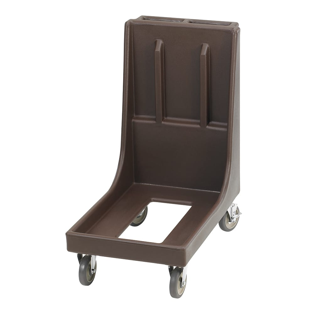 Cambro CD100H131 Camdolly® for Camtainers® w/ 350-lb Capacity, Dark Brown