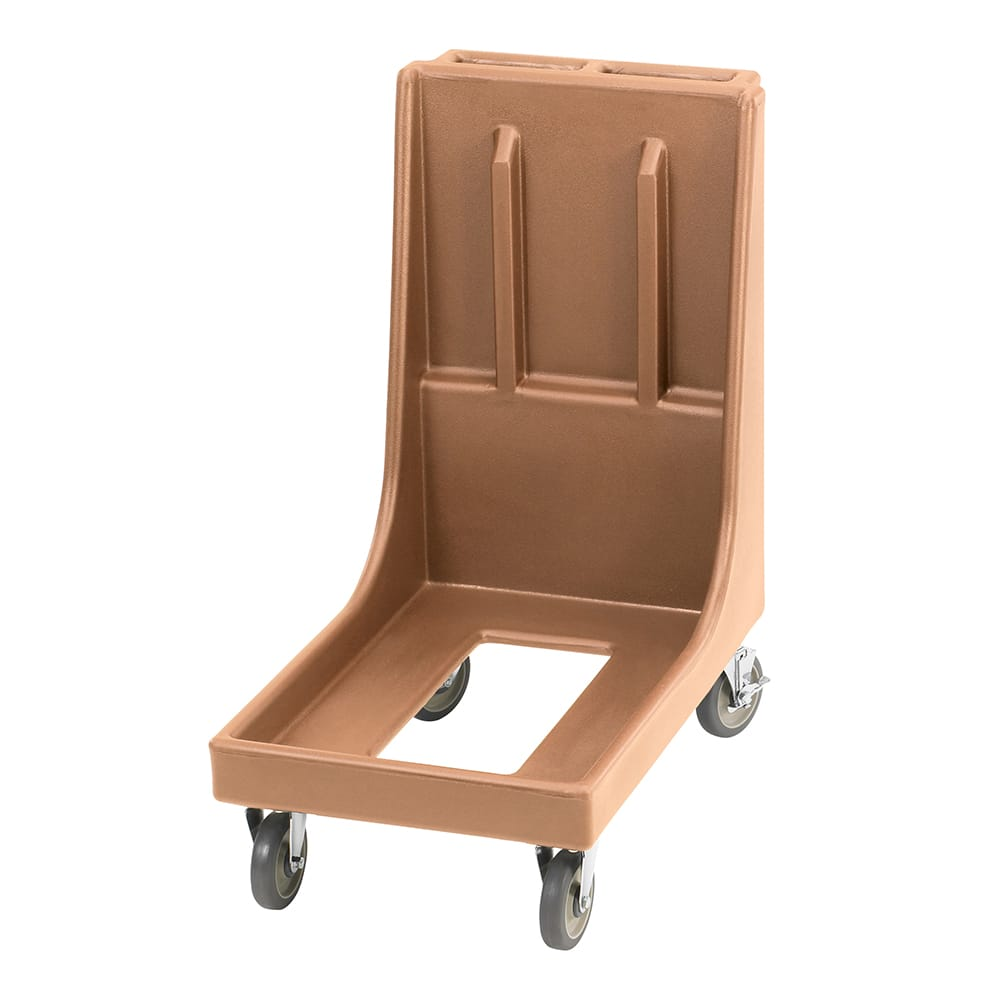 Cambro CD100H157 Camdolly® for Camtainers® w/ 350 lb Capacity, Coffee Beige