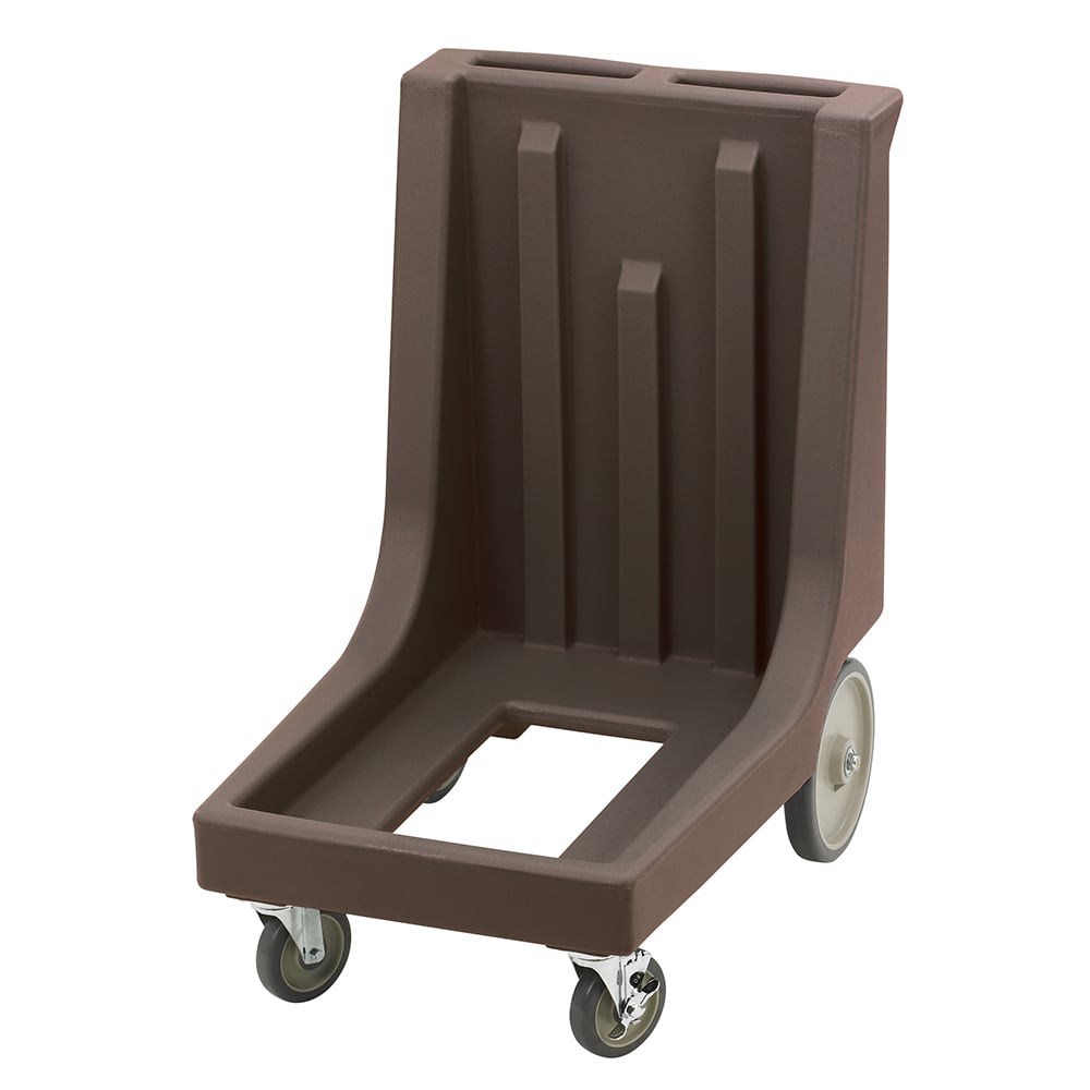 Cambro CD100HB131 Camdolly® for Camtainers® w/ 350 lb Capacity, Dark Brown