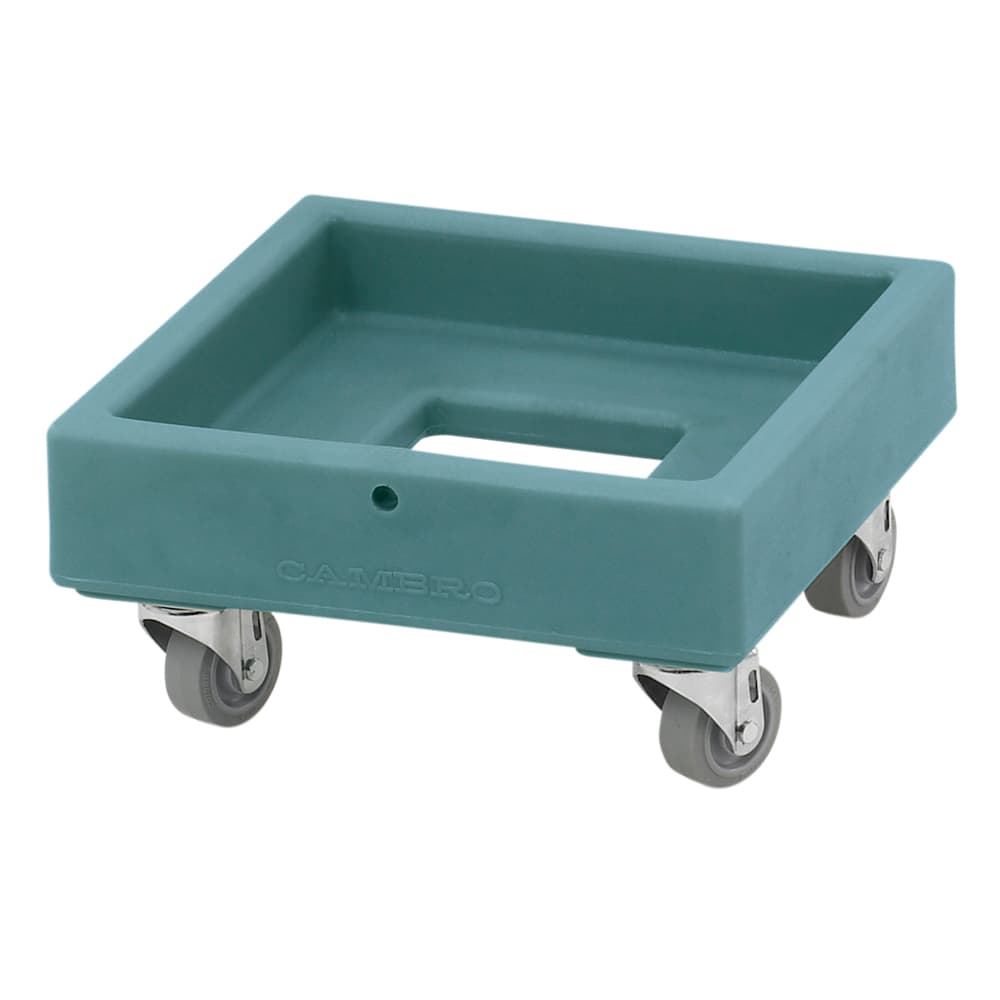Cambro CD1313401 Camdolly® for Milk Crates w/ 250 lb Capacity, Slate Blue