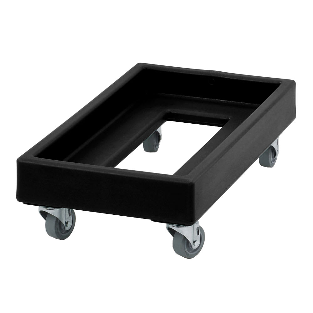 Cambro CD1327110 Camdolly® for Milk Crates w/ 300-lb Capacity, Black