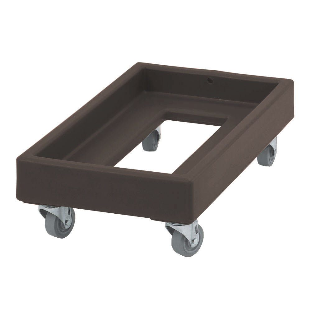 Cambro CD1327131 Camdolly® for Milk Crates w/ 300 lb Capacity, Dark Brown