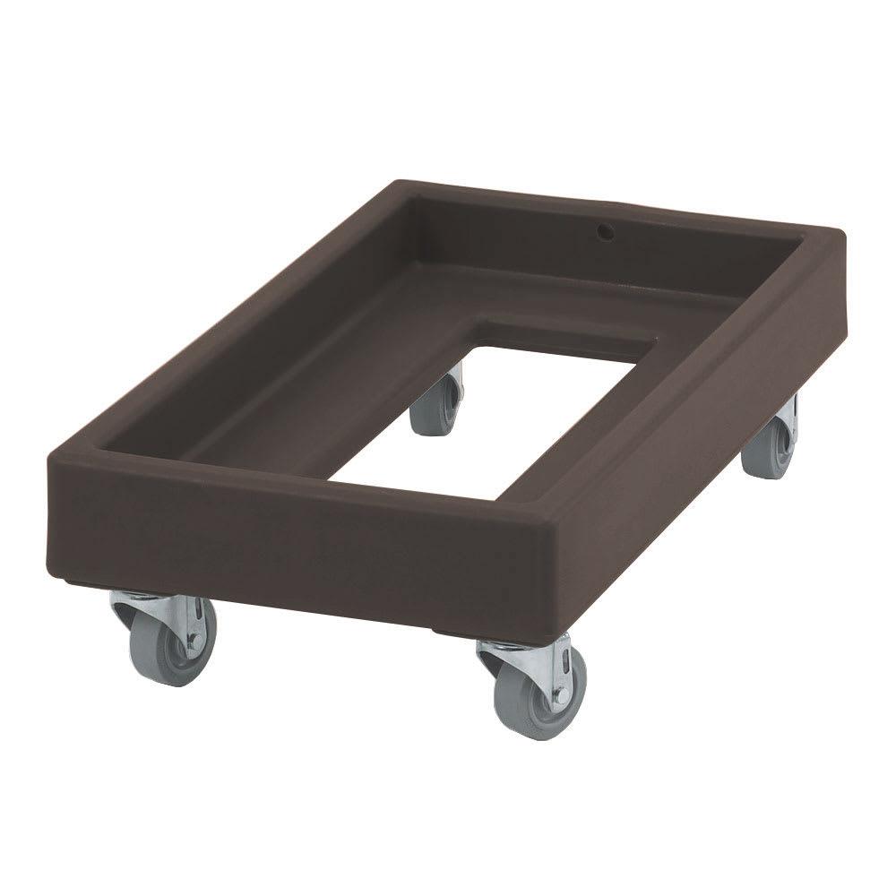 Cambro CD1327131 Camdolly® for Milk Crates w/ 300-lb Capacity, Dark Brown
