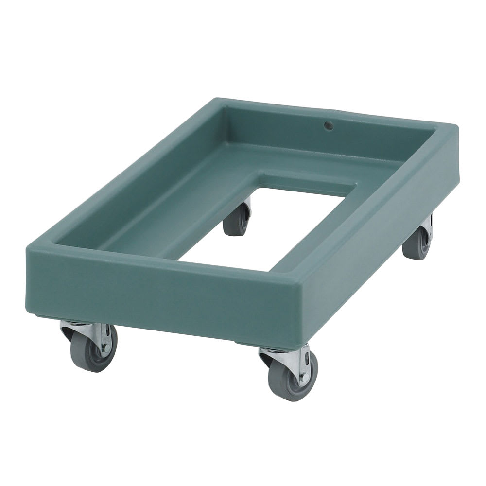 Cambro CD1327401 Camdolly® for Milk Crates w/ 300 lb Capacity, Slate Blue