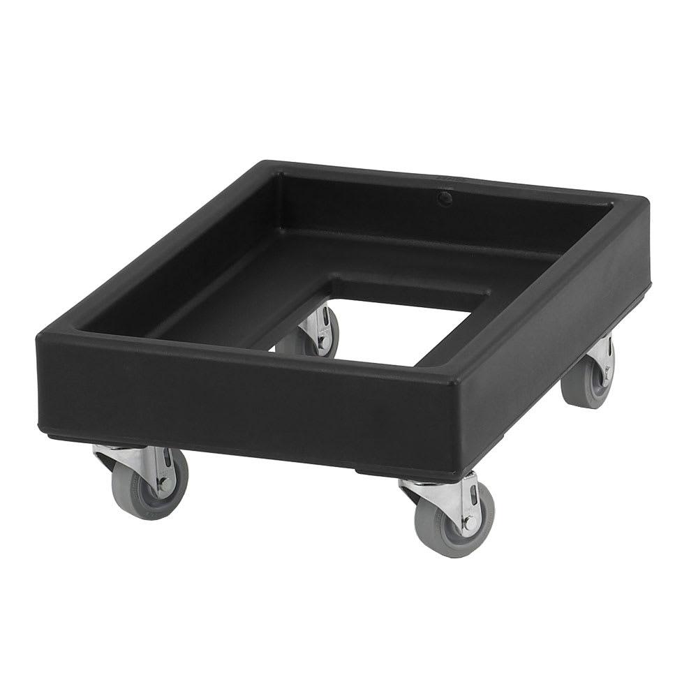 Cambro CD1420110 Camdolly® for Milk Crates w/ 350 lb Capacity, Black