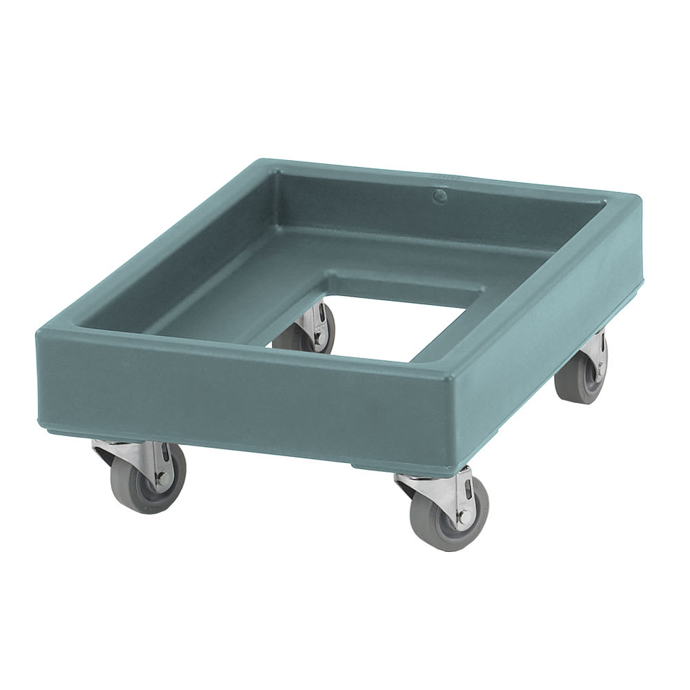 Cambro CD1420401 Camdolly® for Milk Crates w/ 350-lb Capacity, Slate Blue