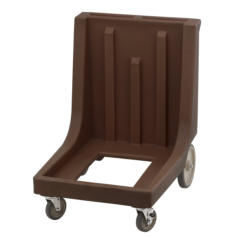 Cambro CD1826MTCHB131 Camdolly® for Camcarrier® 1826MTC w/ 350 lb Capacity, Dark Brown