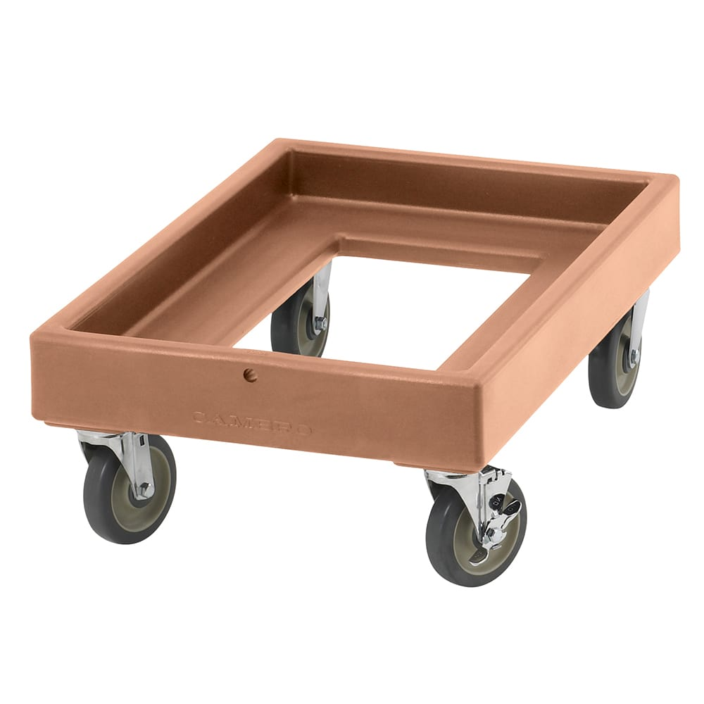 Cambro CD300157 Camdolly® for Camcarriers® w/ 350-lb Capacity, Coffee Beige