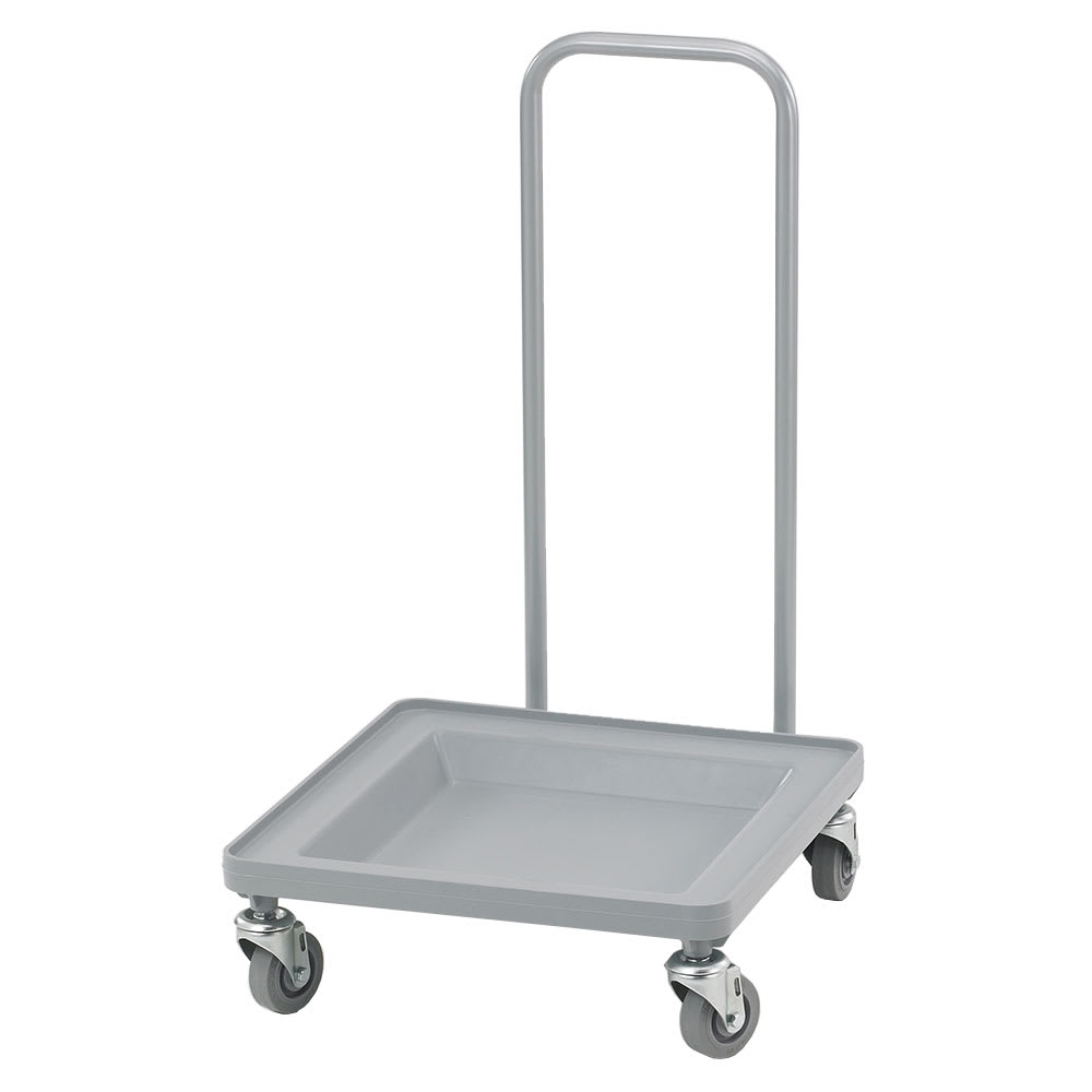 Cambro CDR2020H151 Camdolly® for Camracks® Dish Rack w/ 350 lb Capacity, Soft Gray