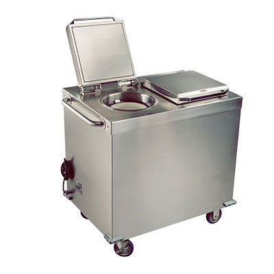 Cambro CHPL100000 Camtherm Mobile Plate Heater - (100)Plate Capacity, Stainless