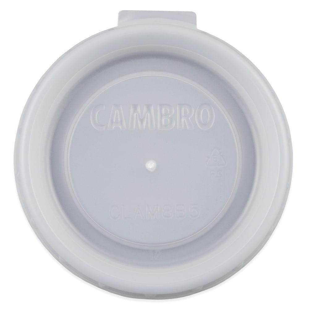 Cambro CLAM8B5190 Disposable Lid for Aladdin 8 oz Mug or 5 oz Bowl