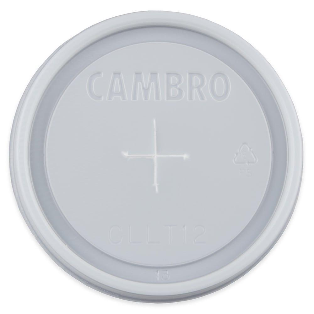 Cambro CLLT12190 Laguna Tumbler Disposable Lids - (LT12)