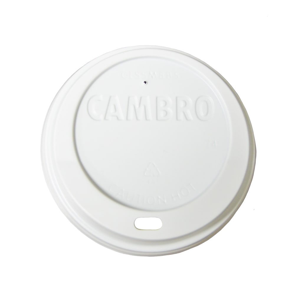 Cambro CLSSM8B5148 Disposable Sip CamLids - (MDSB5/MDSM8)