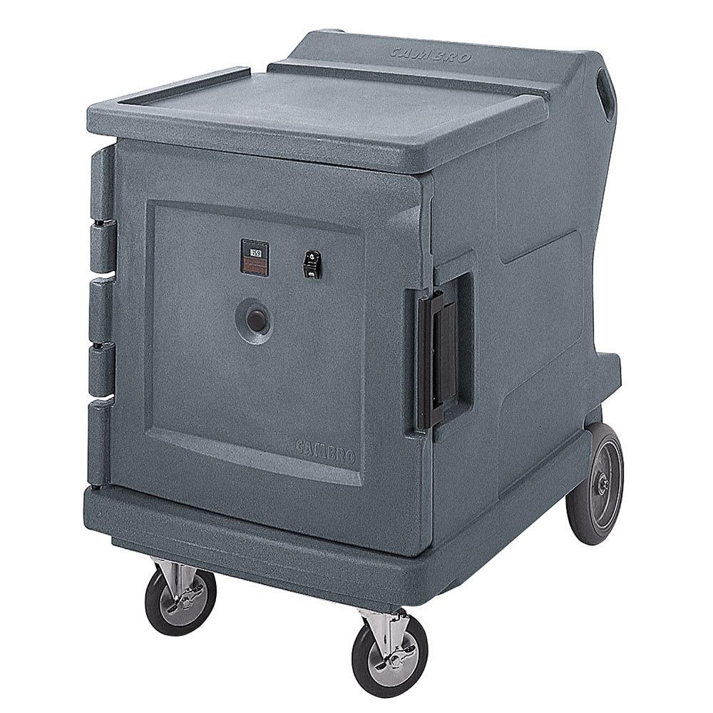 Cambro CMBH1826LF191 Camtherm Hot Cart - F Thermometer, Granite Gray 120v