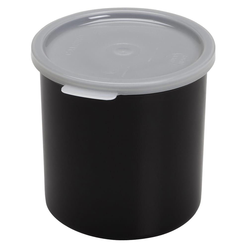 Cambro CP12110 1.2-qt Crock with Lid - Black