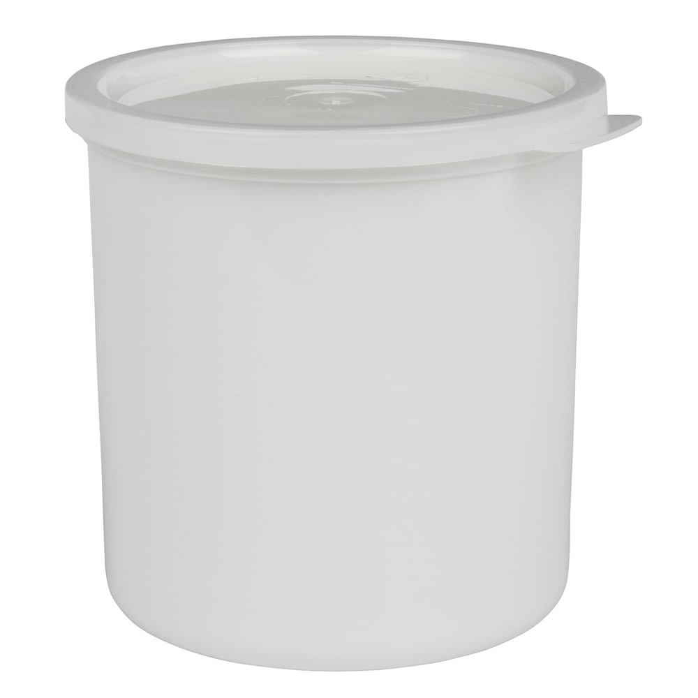 Cambro CP12148 1.2 qt Crock with Lid - White