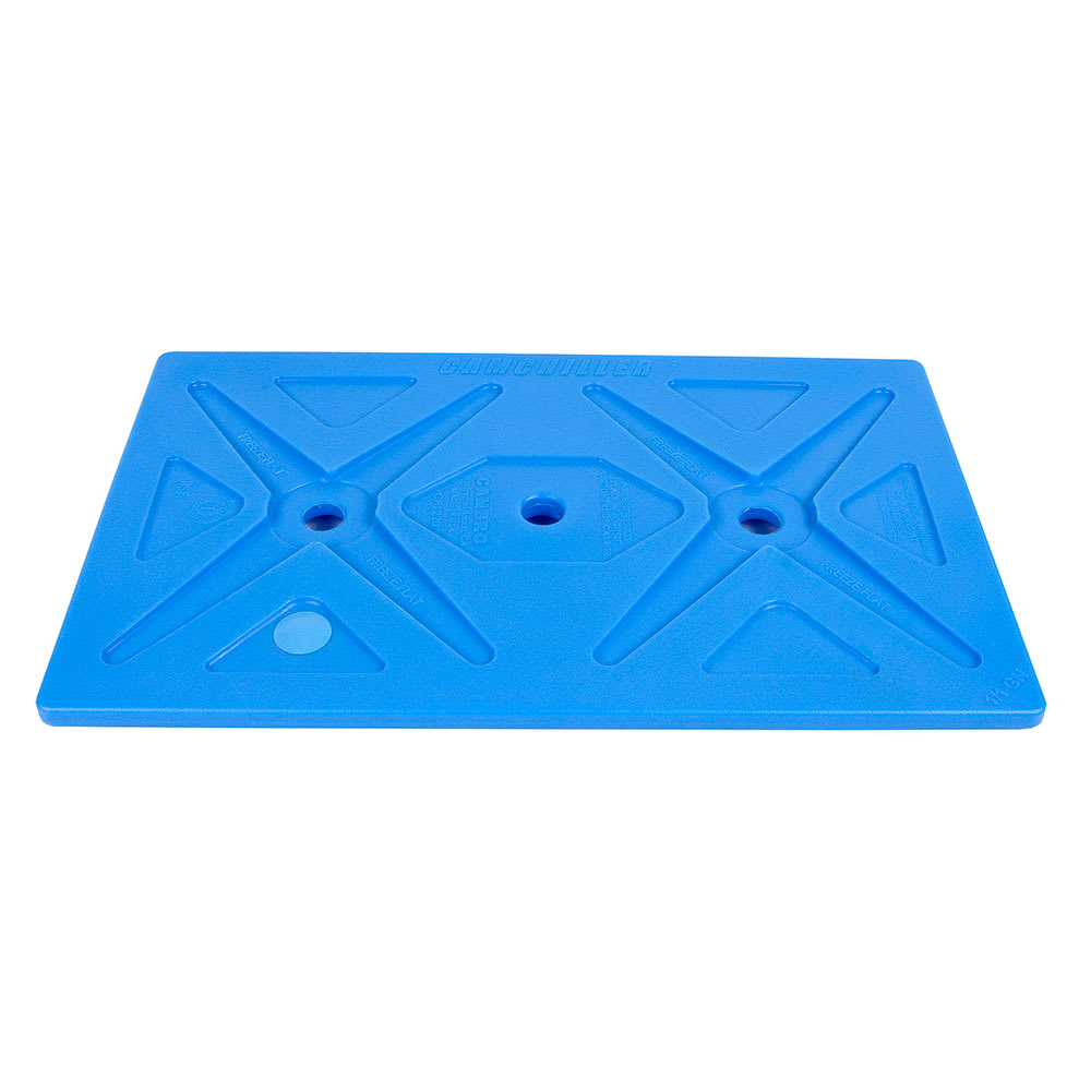 "Cambro CP1220159 Camchiller - Full-Size, 20-13/16x12-7/8x1-1/2"" Cold Blue"