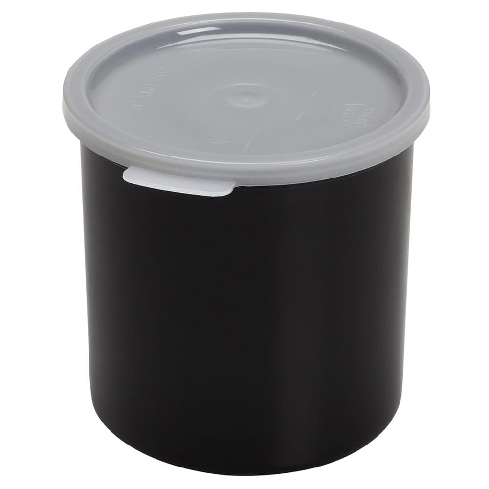 Cambro CP15110 1.5 qt Crock with Lid - Black