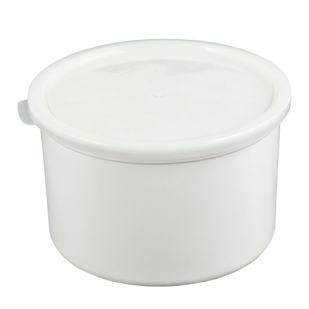 Cambro CP15148 1.5-qt Crock with Lid - White