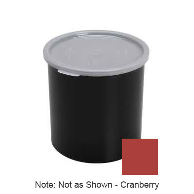 Cambro CP15416 1.5-qt Crock with Lid - Cranberry