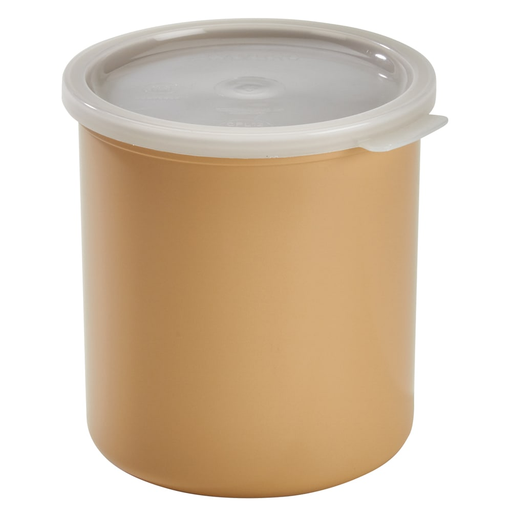 Cambro CP27133 2.7 qt Crock with Lid - Beige