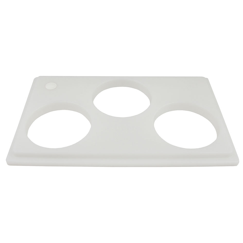 "Cambro CPH3148 Crock Holder - 13x21"" Holds (3)Crocks, White"