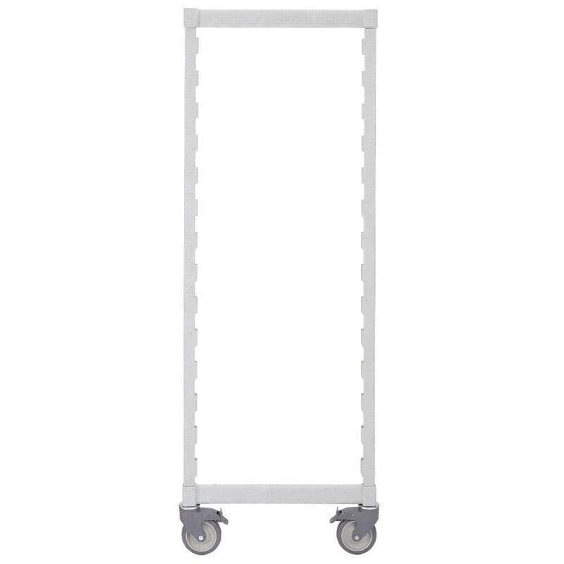 "Cambro CPMPK2467480 Camshelving® Post Kit for Mobile Unit - 24"" x 67"", Speckled Gray"