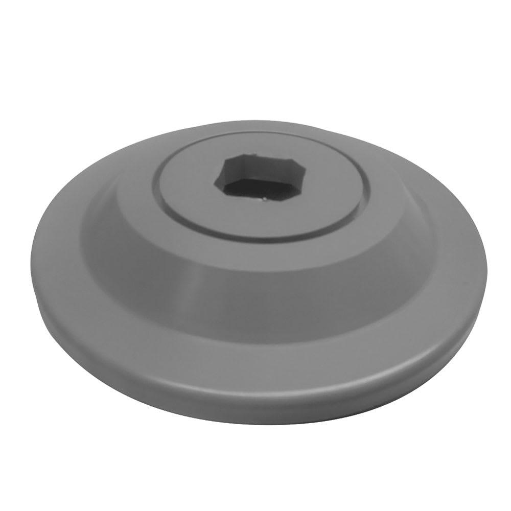 "Cambro CSHDDB 5"" Camshelving High Density Donut Bumper - Gray"
