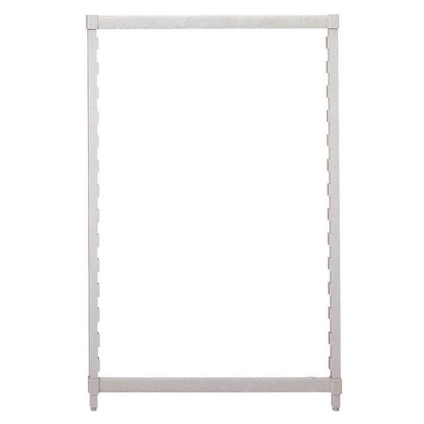 """Cambro CPPK2484480 Camshelving® Post Kit - 24"""" x 84"""", Speckled Gray"""