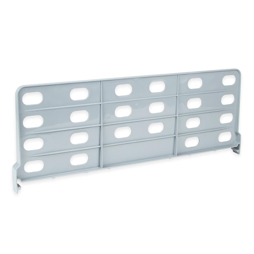"Cambro CSSD188151 18"" Camshelving® Shelf Divider, Soft Gray"