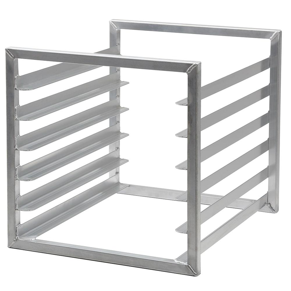 "Cambro CSTSR000 Camshelving Tray Slide Rack - 20-3/8x23x20"" Aluminum"